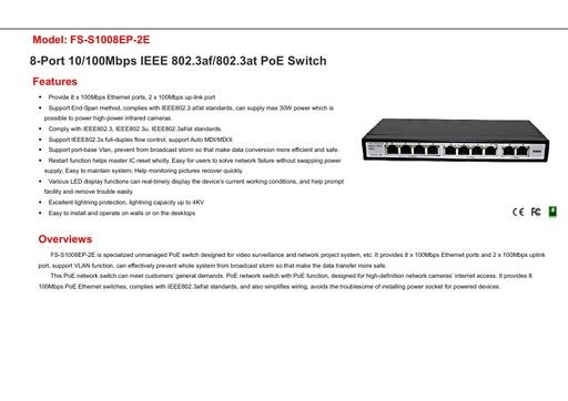 FS S1008EP 2E