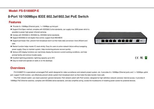 FS S1008EP E