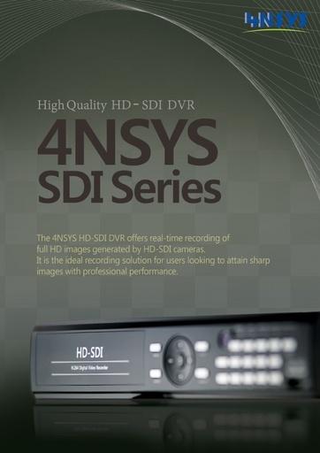 Depliant 4NSYS DVR HD SDI