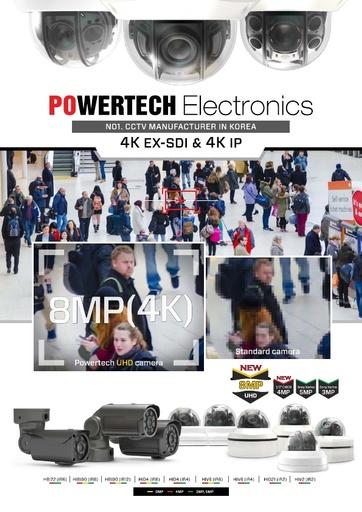 Depliant POWERTECH telecamere 4K EX SDI 4K IP   Giugno 2016
