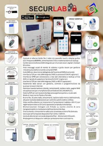 Depliant Securlab 2019