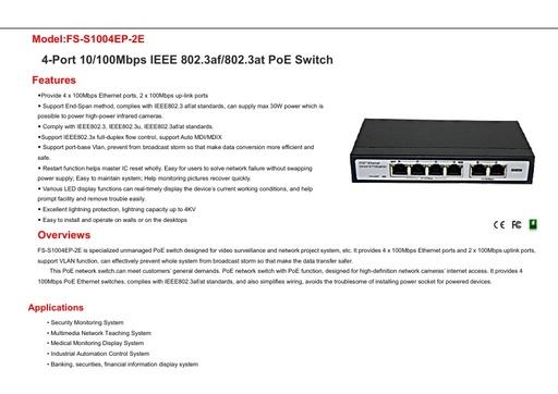 FS S1004EP 2E